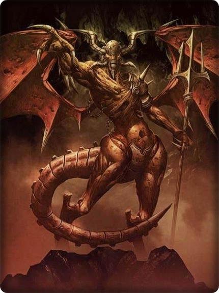 Demonios y su jerarquía